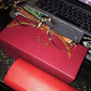 84cea7e43c9c CARTIER Glasses ( Clear Lens